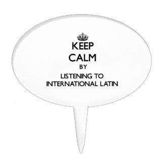 Keep calm by listening to INTERNATIONAL LATIN Cake Pick