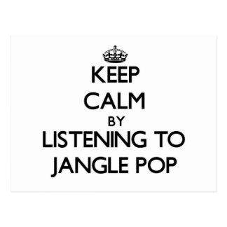Keep calm by listening to JANGLE POP Postcard