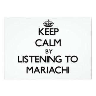 Keep calm by listening to MARIACHI Custom Announcement