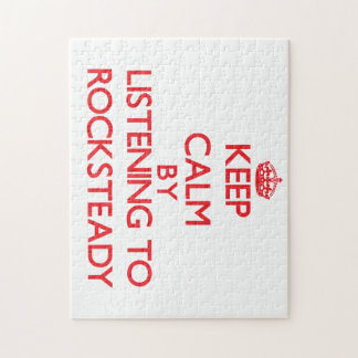 Keep calm by listening to ROCKSTEADY Jigsaw Puzzles