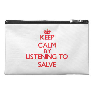 Keep calm by listening to SALVE Travel Accessory Bag