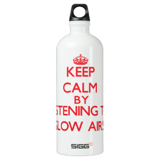 Keep calm by listening to SLOW AIRS SIGG Traveler 1.0L Water Bottle