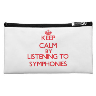 Keep calm by listening to SYMPHONIES Cosmetic Bag