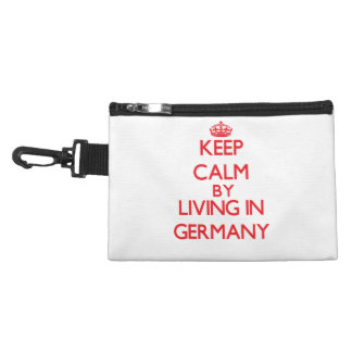Keep Calm by living in Germany Accessory Bag