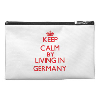 Keep Calm by living in Germany Travel Accessory Bag