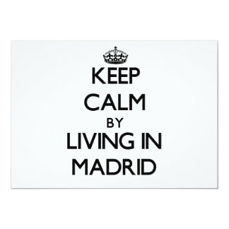 Keep Calm by Living in Madrid Announcement