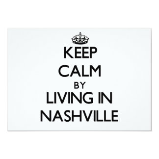 Keep Calm by Living in Nashville Invites