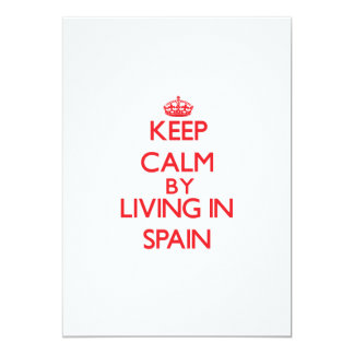 Keep Calm by living in Spain Announcements