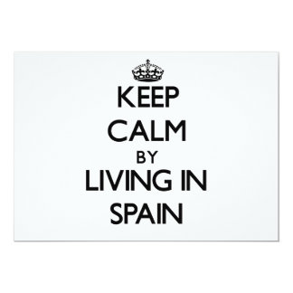 Keep Calm by Living in Spain Invite