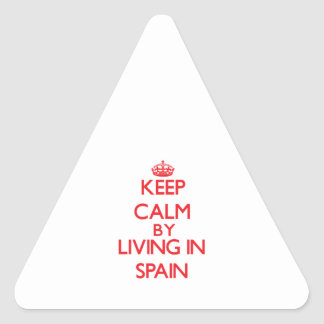 Keep Calm by living in Spain Sticker