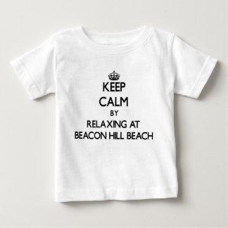 Keep calm by relaxing at Beacon Hill Beach Florida T Shirt