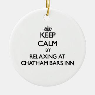 Keep calm by relaxing at Chatham Bars Inn Massachu Christmas Tree Ornaments