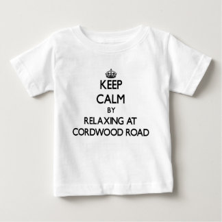 Keep calm by relaxing at Cordwood Road Massachuset T Shirts