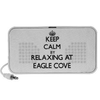 Keep calm by relaxing at Eagle Cove Washington iPhone Speakers