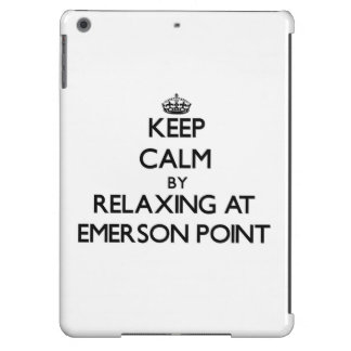 Keep calm by relaxing at Emerson Point Florida iPad Air Case