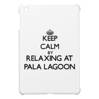 Keep calm by relaxing at Pala Lagoon Samoa iPad Mini Covers