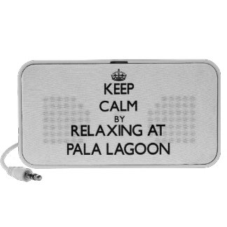 Keep calm by relaxing at Pala Lagoon Samoa Mp3 Speakers