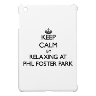 Keep calm by relaxing at Phil Foster Park Florida Case For The iPad Mini