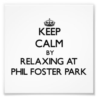Keep calm by relaxing at Phil Foster Park Florida Photograph
