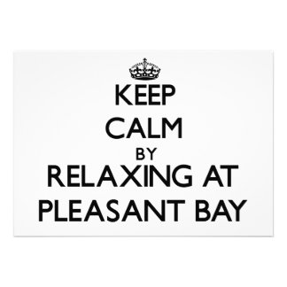 Keep calm by relaxing at Pleasant Bay Massachusett Invitations