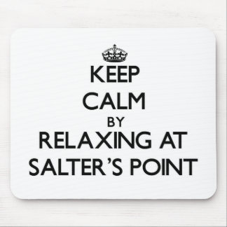 Keep calm by relaxing at Salter'S Point Massachuse Mouse Pad