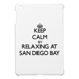 Keep calm by relaxing at San Diego Bay California iPad Mini Covers