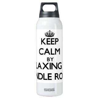 Keep calm by relaxing at Spindle Rock Massachusett 16 Oz Insulated SIGG Thermos Water Bottle