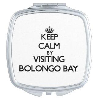 Keep calm by visiting Bolongo Bay Virgin Islands Vanity Mirrors