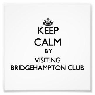 Keep calm by visiting Bridgehampton Club New York Photo