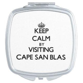Keep calm by visiting Cape San Blas Florida Vanity Mirrors
