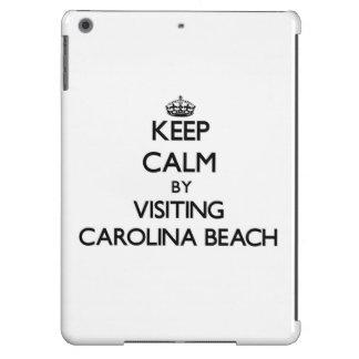 Keep calm by visiting Carolina Beach North Carolin Case For iPad Air