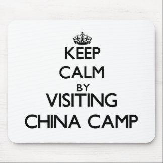 Keep calm by visiting China Camp California Mousepads
