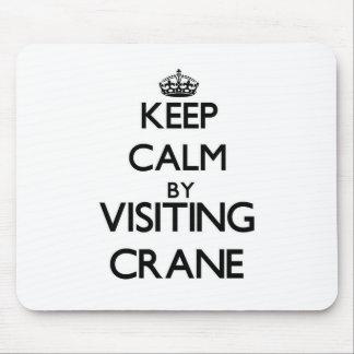 Keep calm by visiting Crane Massachusetts Mousepad