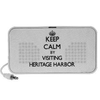 Keep calm by visiting Heritage Harbor California Travel Speaker