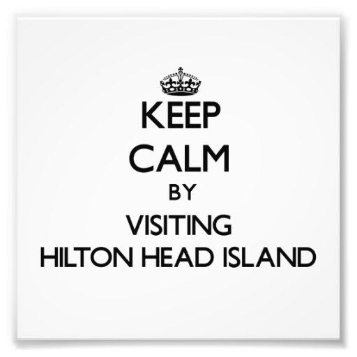 Keep calm by visiting Hilton Head Island South Car Photo Print