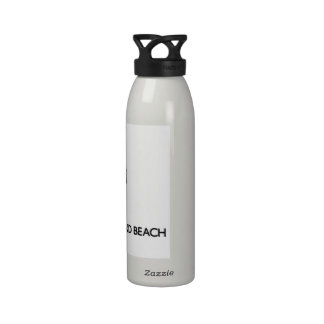 Keep calm by visiting Honeymoon Island Beach Flori Reusable Water Bottle