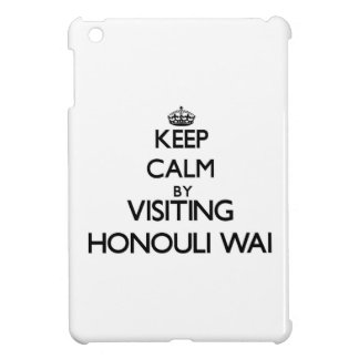 Keep calm by visiting Honouli Wai Hawaii Case For The iPad Mini