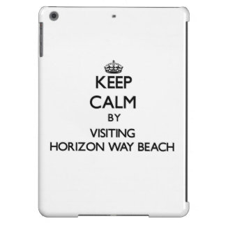 Keep calm by visiting Horizon Way Beach Florida Cover For iPad Air