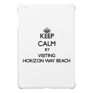 Keep calm by visiting Horizon Way Beach Florida iPad Mini Cases