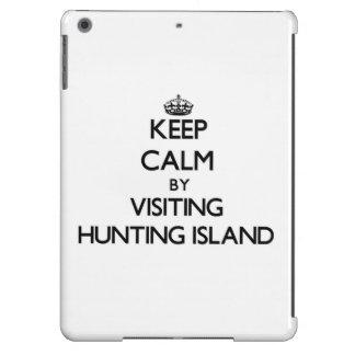 Keep calm by visiting Hunting Island South Carolin Cover For iPad Air
