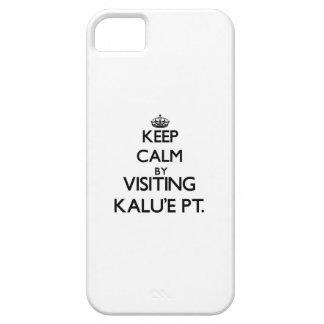 Keep calm by visiting Kalu'E Pt. Hawaii iPhone 5 Covers