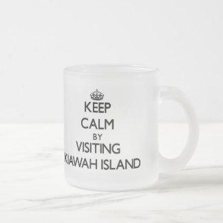 Keep calm by visiting Kiawah Island South Carolina Coffee Mug