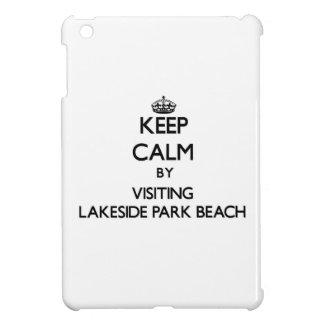 Keep calm by visiting Lakeside Park Beach Wisconsi iPad Mini Cover