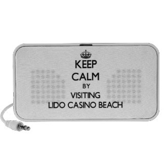 Keep calm by visiting Lido Casino Beach Florida iPhone Speaker