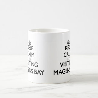 Keep calm by visiting Magens Bay Virgin Islands Coffee Mug