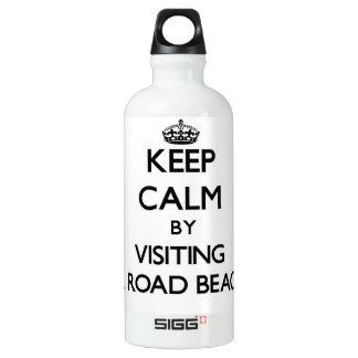 Keep calm by visiting Mill Road Beaches Pennsylvan SIGG Traveler 0.6L Water Bottle