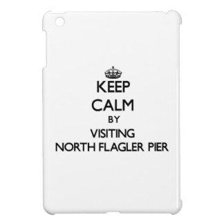 Keep calm by visiting North Flagler Pier Florida iPad Mini Cases