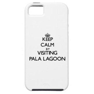 Keep calm by visiting Pala Lagoon Samoa iPhone 5 Case