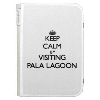 Keep calm by visiting Pala Lagoon Samoa Kindle Cases