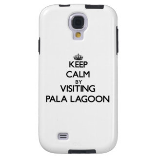Keep calm by visiting Pala Lagoon Samoa Galaxy S4 Case